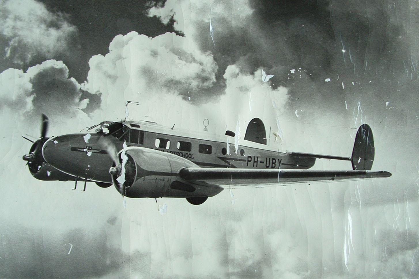 Beechcraft auf Poster