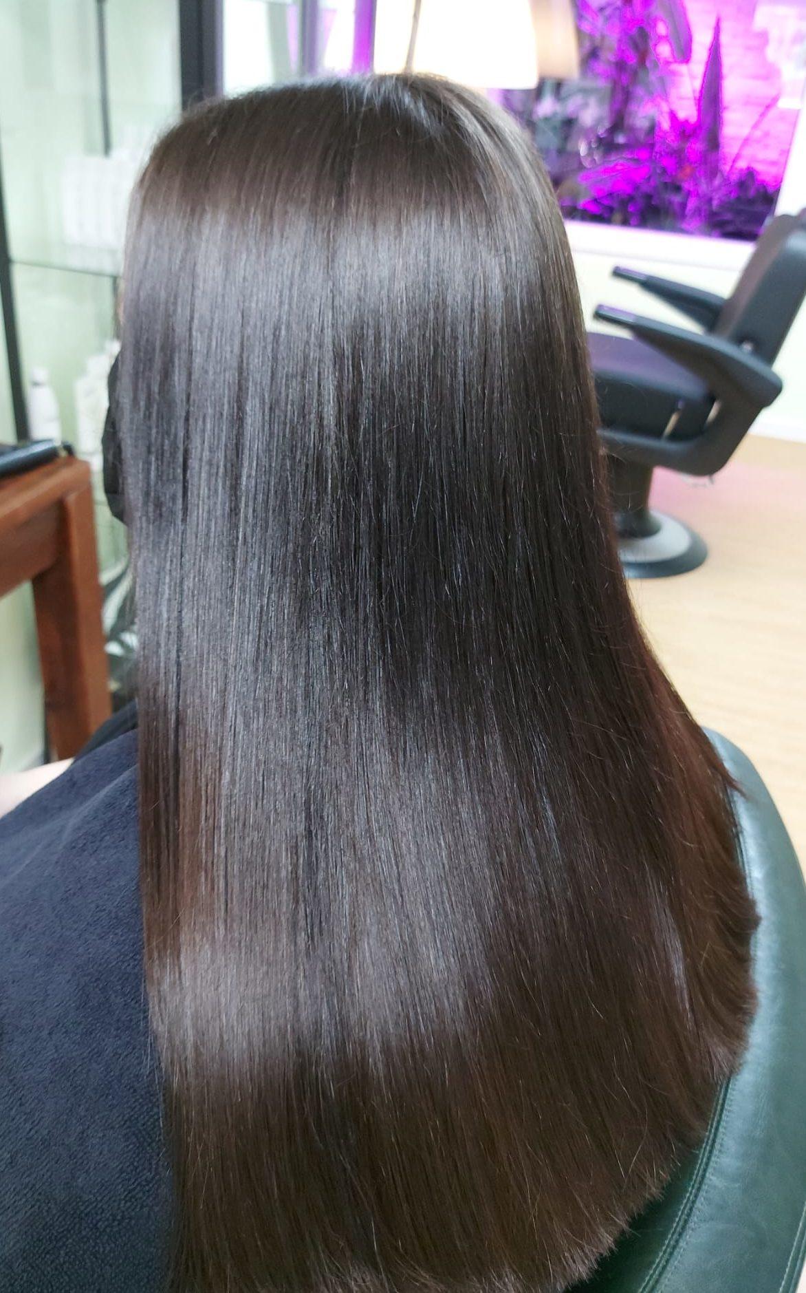 Silky dark brown